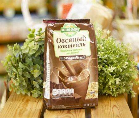 Овсяный Коктейль ™  Компас Здоровья  с шоколадом 300 гр - фото 7833