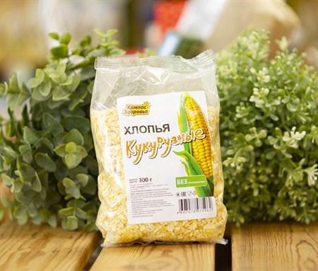 Хлопья кукурузные ™  Компас Здоровья  300 гр - фото 7868