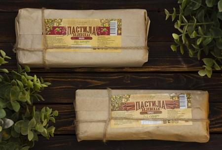 Пастила ™  Белевский десерт  с вишней БЕЗ САХАРА  (в пергаменте), 180 гр - фото 7885