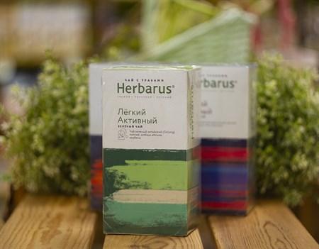 Чай из трав  ™  Herbarus  Легкий Активный в фильтр пакетах 24 шт *2г - фото 7911