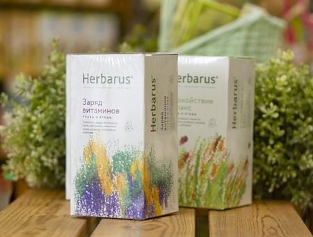 Чай из трав  ™  Herbarus  Заряд Витаминов в фильтр пакетах 24 шт *1,8 г - фото 7912
