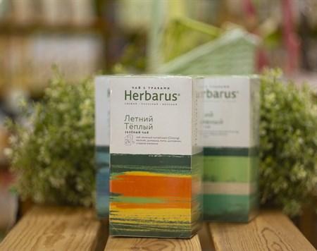 Чай из трав  ™  Herbarus  Летний Тёплый в фильтр пакетах 24 шт *2г - фото 7913