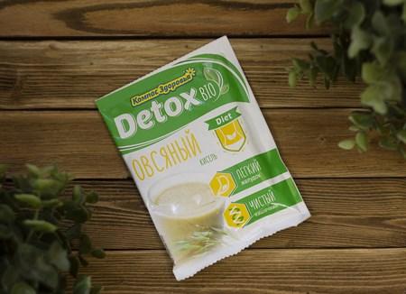 Кисель овсяно-льняной™  Компас Здоровья   detox bio DIET овсяный 25 гр - фото 7943