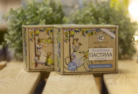 Пастила белевская воздушная™  ВКУССТОРИЯ  классическая 200 гр. - фото 7995