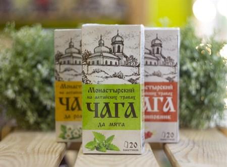 Травяной сбор ™ Chagoff    Монастырский  на алтайских травах  Чага да мята  30 гр. - фото 8002