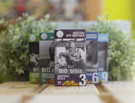 Масло ™  Дом Кедра  капсулы для здоровья  Здоровье мозга  BIO- brain 90 шт - фото 8006