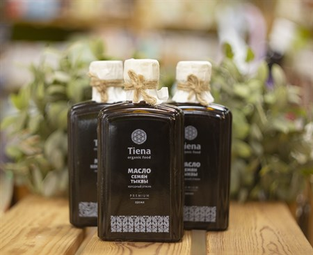 Масло ™  Tiena тыквенное 250 мл. - фото 8050
