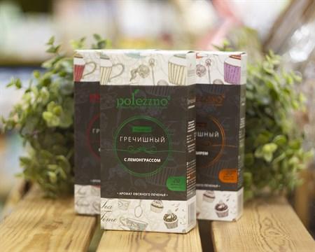 Напиток™  polezzno Гречишный с лемонграссом в фильтр-пакетах 40 гр. - фото 8168