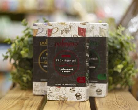 Напиток™  polezzno Гречишный с цейлонской корицей в фильтр-пакетах 40 гр. - фото 8169