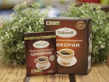 Цикорий растворимый порционный™  Chikoroff натуральный 5 гр. - фото 8243