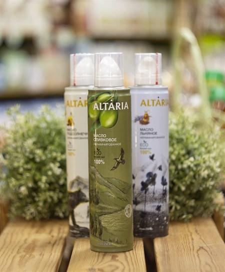 Масло аэрозоль ™   ALTARIA  оливковое нерафинированное 250 мл - фото 8287