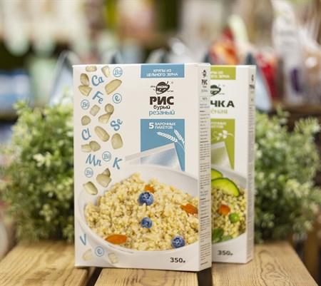 Крупа ™  Образ жизни  в варочных пакетах  Бурый  рис , 350 гр. - фото 8366