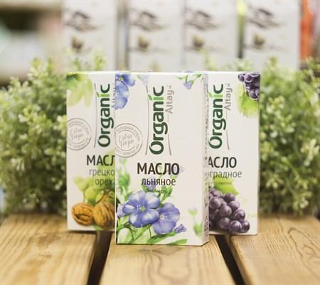 Масло ™  Organic  льняное, 100 мл - фото 8406