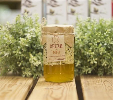Мед ™  Зеленая Улица  с семенами кунжута 380 гр - фото 8411
