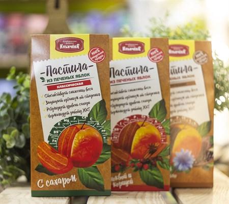 Пастила яблочная™  Кондитеская фабрика Ильичёва  классическая  90 гр - фото 8424