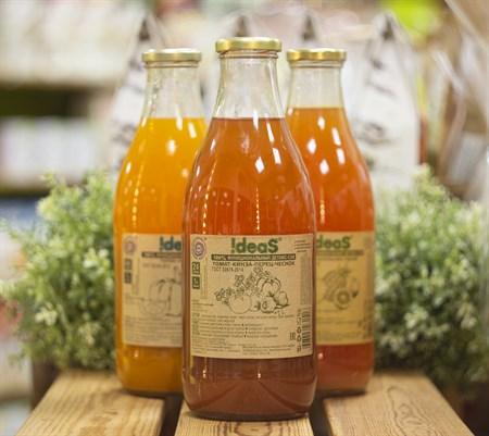 Сок ™  IDEAS  томат-кинза-перец-чеснок,1л. - фото 8449