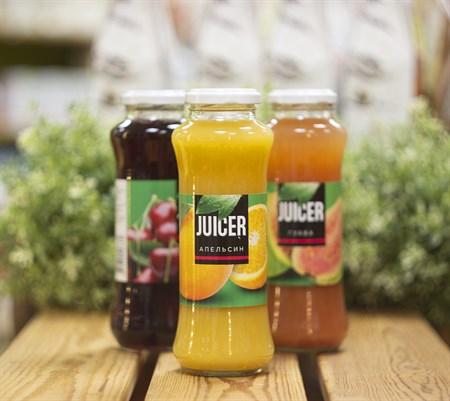 Сок™  JUICER  Апельсиновый восстановленный с мякотью 0,25 л. - фото 8453