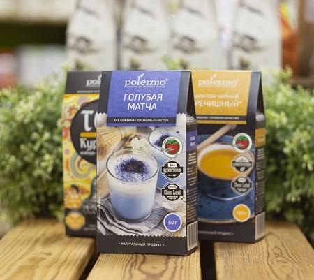 Чай голубой Матча™  polezzno  50 гр - фото 8473