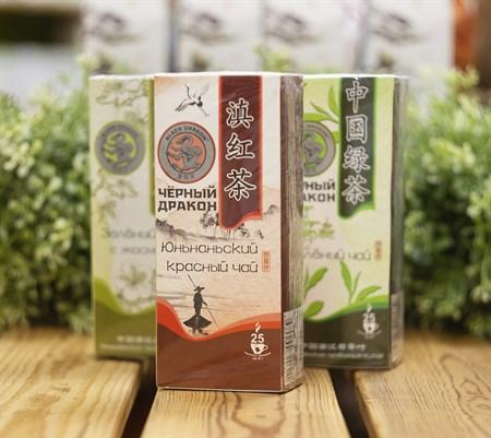 Чай ™  Черный дракон  Юньнаньский красный пакет 2г*25п - фото 8477
