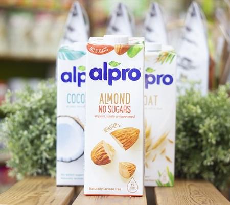 Напиток миндальный ™  ALPRO  без сахара с кальцием и витаминами , 1 л - фото 8480