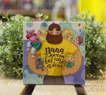 Шоколадный набор ™  ВОТЭТОЧАЙ  Папа может всё на свете, 45 гр - фото 8508