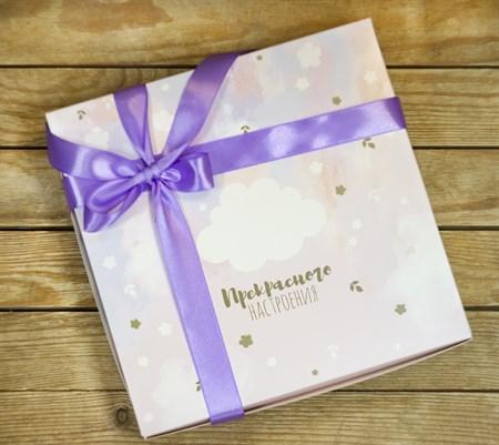 Коробка складная подарочная 25x25x4,5 см - фото 8539