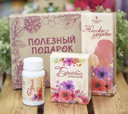 Набор ™ Алтайский нектар Женский (фитобальзам, травяной чай, капсулы) - фото 8629