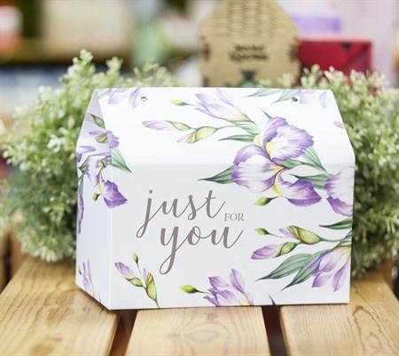 Коробка складная подарочная 10x18x14 см - фото 8645