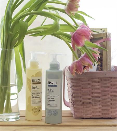 Гель для умывания ™  BISOU  Мультивитамин для всех типов кожи, 150 мл - фото 8667