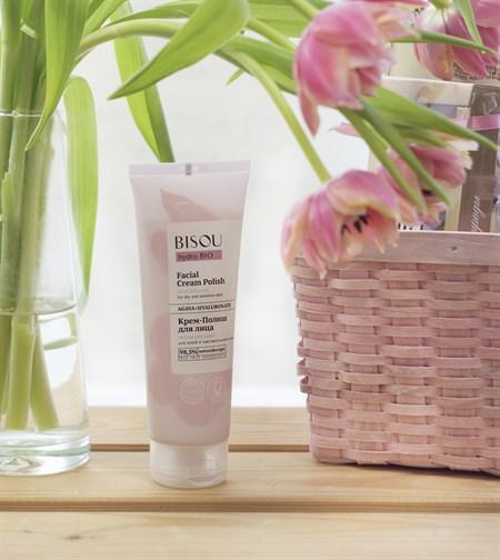 Крем-полиш для лица ™  BISOU hydro BIO  Увлажняющий для сухой и чувствительной кожи, 110 мл - фото 8671
