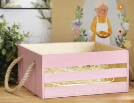 Ящик подарочный КВАДРАТНЫЙ маленький - фото 8689
