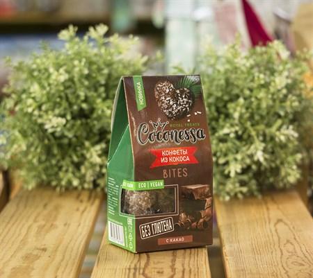Конфеты кокосовые™  Coconessa   Какао  90 гр. - фото 8862