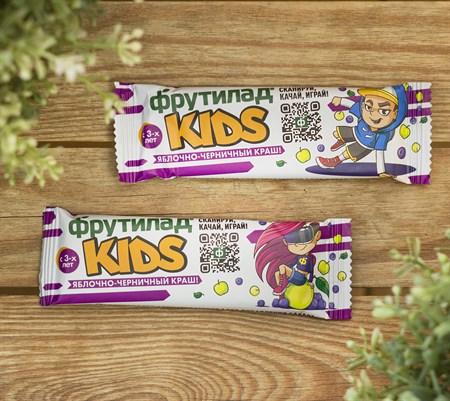 Фруктовый батончик ™  Фрутилад KIDS  c черникой для детского питания, 25 гр - фото 8897