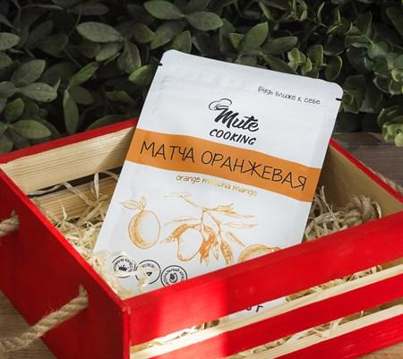 Матча ™  MUTE COOKING  оранжевая (манго), 50 г - фото 8912