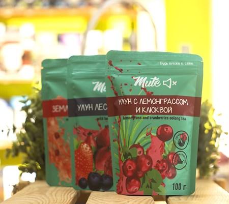 Чай ™  MUTE  Улун с лемонграссом и клюквой, 100 г - фото 8930