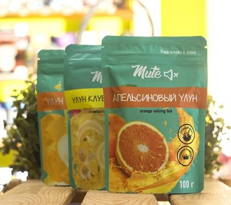Чай ™  MUTE  Апельсиновый улун, 100 г - фото 8938