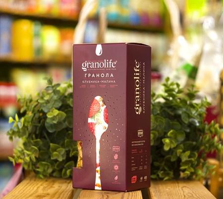 Гранола ™  granolife  Клубника - малина, 400 г - фото 8984