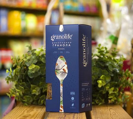 Гранола ™  granolife  Шоколадная - кокос, 400 г - фото 8986