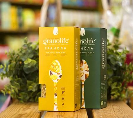 Гранола ™  granolife  Манго - ананас, 200 г - фото 8987