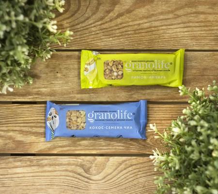 Батончик злаковый ™ granolife Кокос - семена Чиа, 30 г - фото 9083