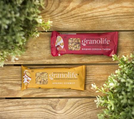Батончик злаковый ™  granolife  Лимон - Имбирь, 30 г - фото 9087