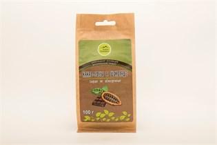 Какао-бобы ™  Дары Памира  сырые в горьком шоколаде 100г