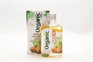 Масло грецкого ореха  Органик  100 мл