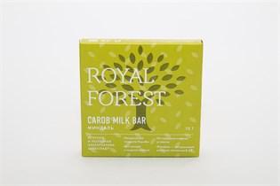 Шоколад ™  Роял Форест  из кэроба с миндалем Carob Milk Bar 75 г.
