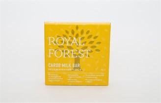Шоколад ™  Роял Форест  из НЕобжаренного кэроба Carob Milk Bar 75 г.