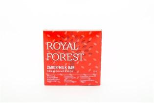 Шоколад ™  Роял Форест  из обжаренного кэроба Carob Milk Bar 75 г.