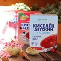 Кисель ™  Витошка  с витаминами и кальцием КЛЮКВА (25гр. -8 шт)