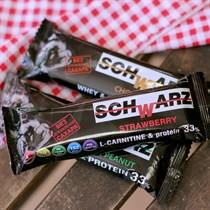 Батончик протеиновый ™  SCHWARZ  33%  Клубника в йогурте  с выс. содерж. протеина 50 гр.