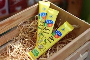 Конфеты  Флакс батон  ™  Компас Здоровья  лимон 30 гр