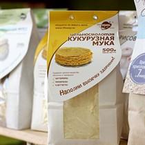 Мука ™  Образ жизни  кукурузная 500 гр
